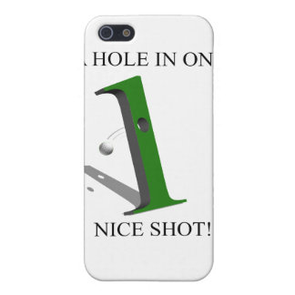 A Hole In One Golf Ball iPhone SE/5/5s Cover