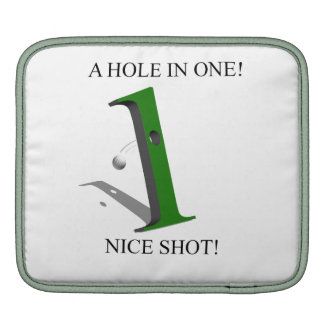 A Hole In One Golf Ball Sleeve For iPads