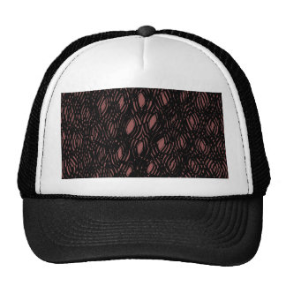 A- hole (sic) heap o 'perimentation going on here trucker hat