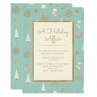 A Holiday Affair Party Invitation