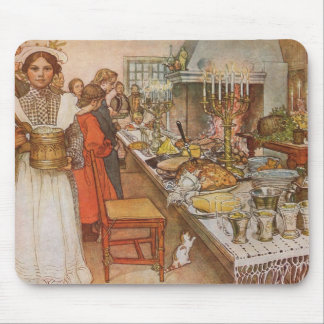 A Holiday Dinner Mouse Pad