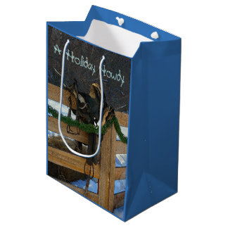 A Holiday Howdy Medium Gift Bag