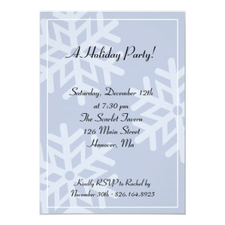 A Holiday Party! Announcements