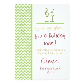 A Holiday Toast Card