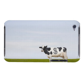 A Holstein Dairy cow with spots in the shape of Barely There iPod Cover