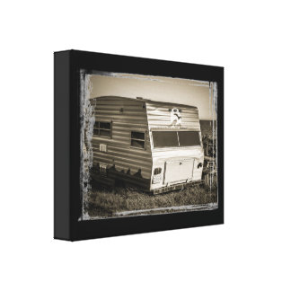 A Home By The Sea:  Rural Life Gallery Wrap Canvas