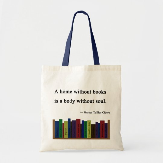 A Home Without Books Tote