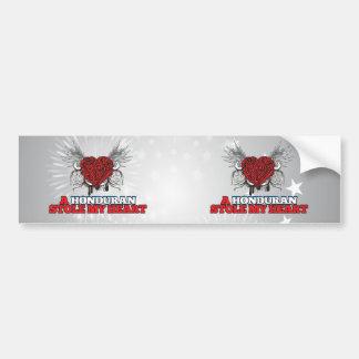 A Honduran Stole my Heart Bumper Stickers