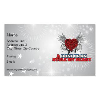 A Honduran Stole my Heart Business Card