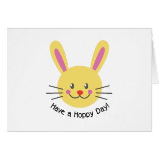 A Hoppy Day Greeting Card