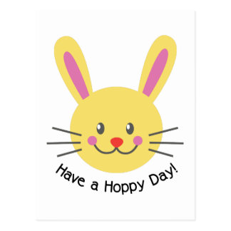 A Hoppy Day Postcard