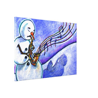 A Horn for Playing Canvas Print