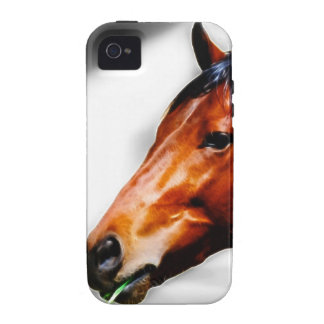 A horse and a blade of grass Case-Mate iPhone 4 cover