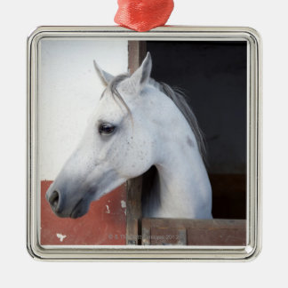 A Horse (Equidae) Metal Ornament