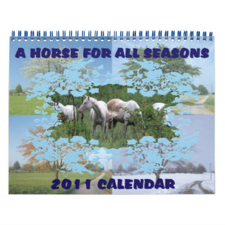 A HORSE FOR ALL SEASONS 2011 CALENDAR