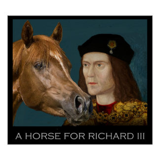 A horse for Richard III Poster