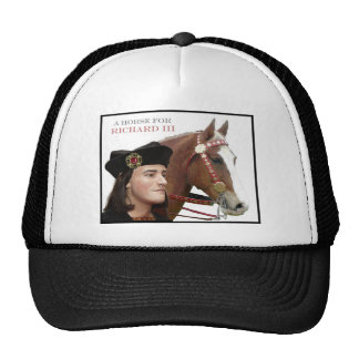 A horse for Richard III Trucker Hat