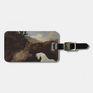 A Horse Frightened by a Lion by George Stubbs Luggage Tag