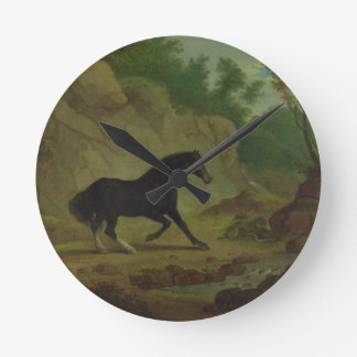 A Horse Frightened by a Snake, 1792 (oil on canvas Wall Clocks
