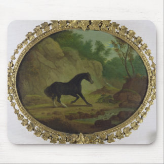 A Horse Frightened by a Snake, 1792 (oil on canvas Mouse Pad