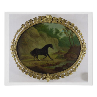 A Horse Frightened by a Snake, 1792 (oil on canvas Poster
