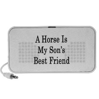 A Horse Is My Son's Best Friend Laptop Speakers