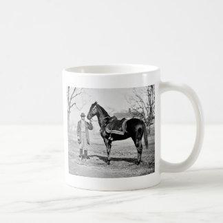 A Horse Named Cincinnati, 1865 Coffee Mug