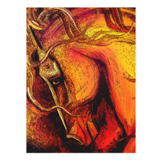 A Horse of a Different Coloer Postcard