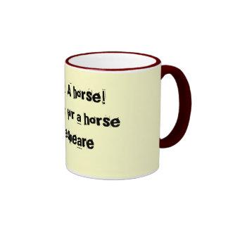 A horse - Shakespeare mug