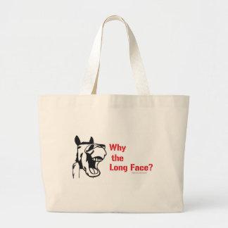 A horse walks into a bar... canvas bags