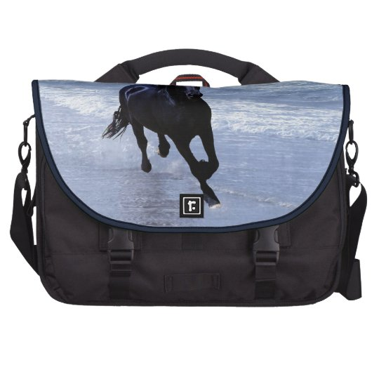 A horse wild and free computer bag