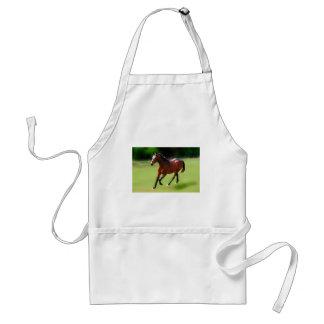 A horses canter adult apron