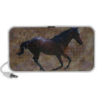 A horses gait mp3 speaker