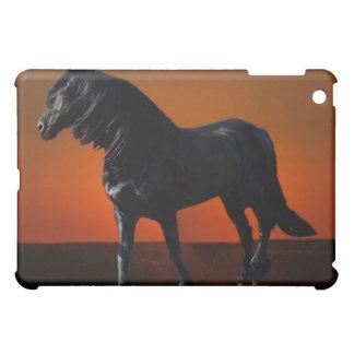 A horses sunset romp cover for the iPad mini