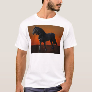 A horses sunset romp T-Shirt