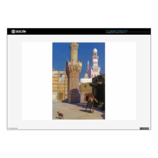 """A Hot Day in Cairo (front of the Mosque) by Jean-L Decals For 15"""" Laptops"""