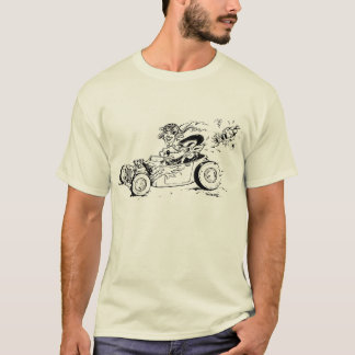 A Hot Rod, a Wolf and a Fox  T-shirt. T-Shirt