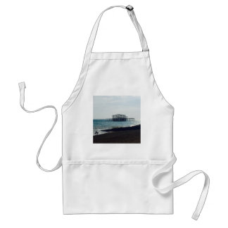 A Hot Summers Day - Brighton West Pier Adult Apron