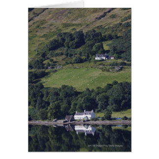 A House Along The Water Greeting Cards
