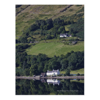 A House Along The Water Post Cards