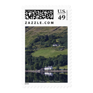 A House Along The Water Postage Stamps