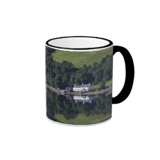 A House Along The Water Ringer Mug