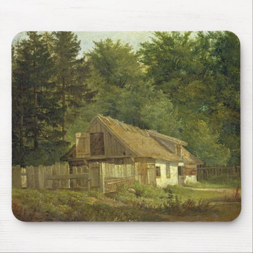 A House in the Frederiksdal Forest near Mouse Pad