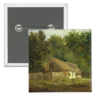 A House in the Frederiksdal Forest near Pinback Button