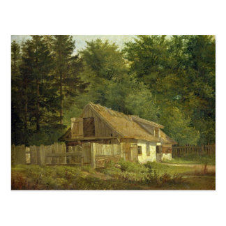 A House in the Frederiksdal Forest near Postcard