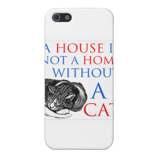 A House Is Not A Home Cat... iPhone SE/5/5s Cover