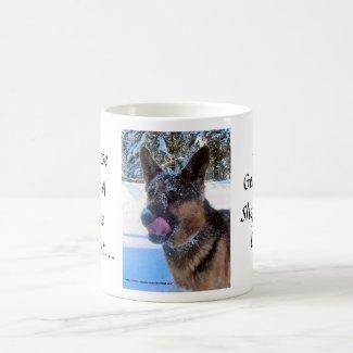 A House Isn't A Home Without A German Shepherd Dog Mug