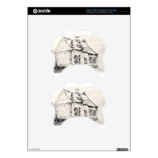 A house Magros by Vincent van Gogh Xbox 360 Controller Decal