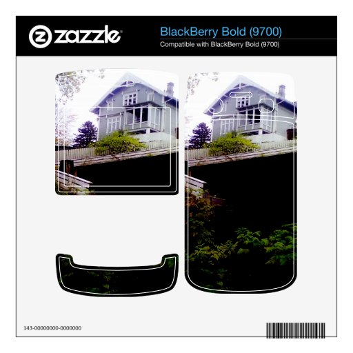 A House on a Hill Skin For BlackBerry Bold