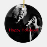A House on Haunted Hill Christmas! Christmas Ornaments